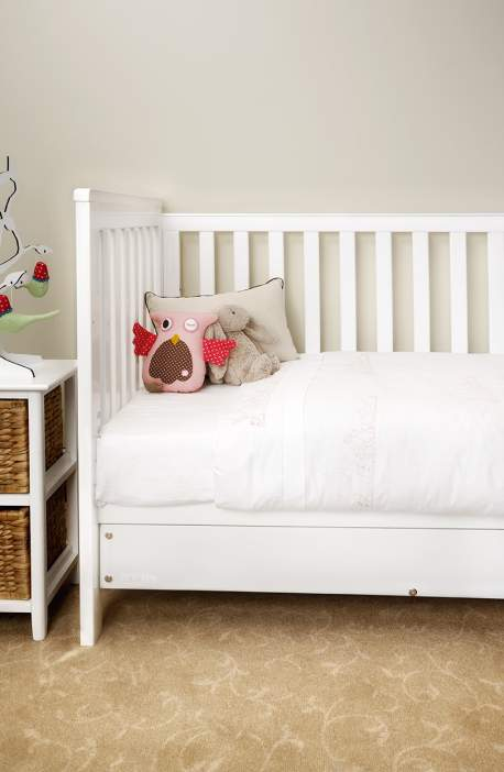 Pink Bunnies Cot Duvet Set